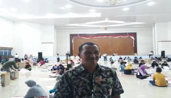 KPU Bangka Tengah Mulai Proses Pelipatan Surat Suara
