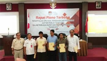 KPU Bangka Tetapkan DPT Pilkada Sebanyak 200.251