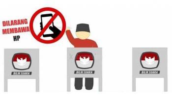 KPU Basel Ingatkan Tak Boleh Bawa Ponsel, Kamera atau Alat Perekam ke Bilik Suara