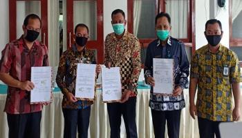 KPU Hibahkan 150 Kotak Suara ke Pemkab Bangka