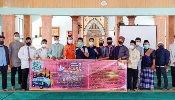 Kuatkan Jalinan Silaturahmi, BKPRMI Bangka Gelar Safari Dakwah di Masjid Al Ittihad