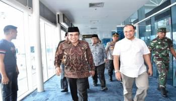 KUII ke 7 Di Babel Sukses, Gubernur Antar Menteri Agama Kembali ke Jakarta