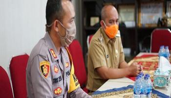 Kunjungan Perdana, Kapolres Pangkalpinang Silaturahmi ke Wali Kota