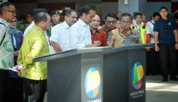 Kunjungan Presiden Joko Widodo ke Bangka Belitung dalam Parade Foto