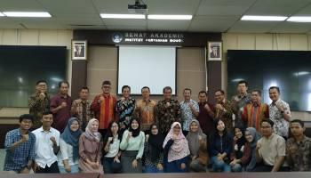 Kunjungi Kampus IPB, Syahbudin Harap Mahasiswa Bangka Tuntut Ilmu Sebanyak Mungkin