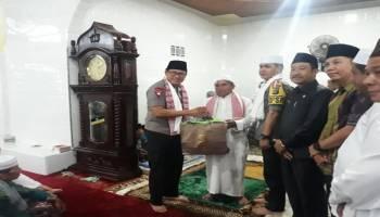 Kunjungi Masjid Roudhotul Jannah Desa Nangka, Kapolda Ajak Masyarakat Jaga Kamtibmas