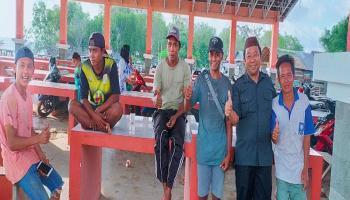Kunjungi Penutuk, H.Kamarudin Dengar Keluhan Warga Soal Fasilitas Pasar