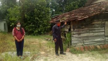 Kunjungi Rumah Tak Layak Huni, Ketua DPRD Bangka Minta Pemda Lakukan Tindakan