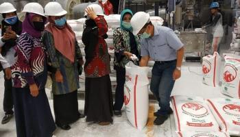 Kunker ke PT. BAA, GOW Bangka Siap Bantu Pasarkan Sago Mee Sampai ke Luar Negeri