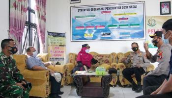 Langkah Cepat Gubernur Erzaldi Atasi Lonjakan Kasus Covid-19 di Desa Sadai