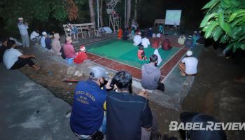 Lapangan Badminton Jadi Lokasi Nonton Bareng Film G30S PKI, Warga Diminta Tetap Patuhi Protokol Covid-19