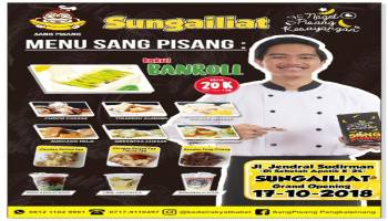 Launching Sang Pisang di Sungailiat, Yuk Ramain