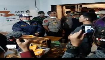 Lawan Corona, Gubernur Erzaldi Sidak ke Warung Kopi, Sekda: Menggema Hingga ke Pelosok Desa