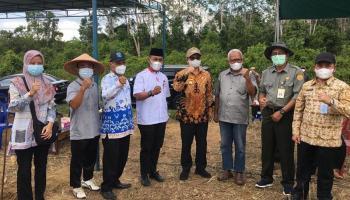 LDII Bersama dengan Pemprov dan BPTP Babel, Tanam Tiga Komoditas Pertanian di Bangka Tengah