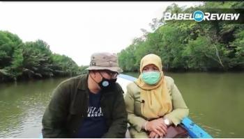 Lebih 10 Km Menyusuri Sungai Mendo, Elfiyena Sebut Kita Kaya Lidi Nipah