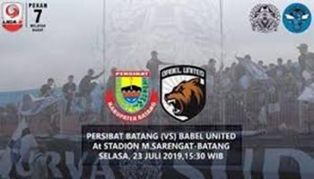 Liga 2 2019: Babel United Incar Poin Penuh di Batang