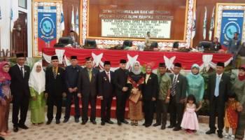 Lima Anggota DPRD Babel PAW Korban Jatuhnya Lion Air JT610 Dilantik, Ini Nama-Namanya