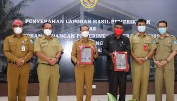 Lima kali Berturut Pemkab Bangka Raih WTP dari BPK