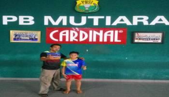 Lolos Audisi, Pebulutangkis Muda Babel Dapat Beasiswa dari PB Mutiara Cardinal Bandung