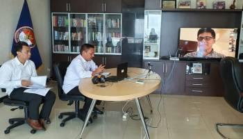 LPSK Gelar Rapat Secara Virtual, Cara Kreatif Mengurangi Dampak Teror Corona