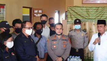 LPSK Siapkan Perlindungan Saksi dan Korban Terorisme Mapolsek Daha Selatan