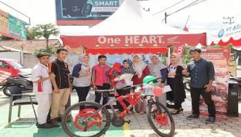 Lucky Draw ASP Honda Muntok, Warga Dusun Rumpis Dapat Hadiah Utama