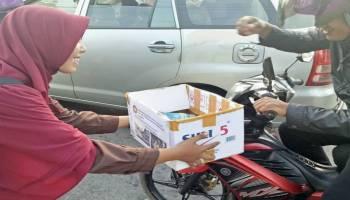 Mahasiswa FT UBB Galang Dana Korban Gempa Lombok