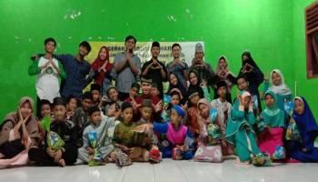 Mahasiswa IAIN SAS Peduli Anak Yatim