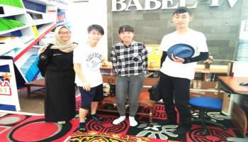 Mahasiswa Jepang Peserta  Summer School Terpesona Keindahan Pulau Bangka