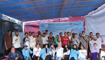 Mahasiswa KKN Kelurahan Air Jukung Ajak Masyarakat Budidaya Udang Vaname