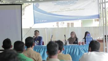 Mahasiswa KKN UBB Adakan Sosialisasi Pembuatan 'Kecap Ikan' di Desa Labuh Air Pandan