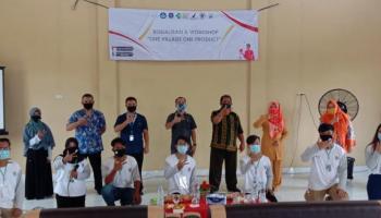 Mahasiswa KKN UBB Desa Kace Sukses Gelar Sosialisasi dan Workshop One Village One Product