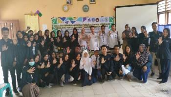 Mahasiswa KKN UBB Desa Saing Gelar Sosialisasi Pernikahan Dini dan Penyalahgunaan Narkoba Bagi Kaum Muda