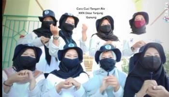 Mahasiswa KKN UBB Desa Tanjung Gunung Kampanye Pakai Video Online