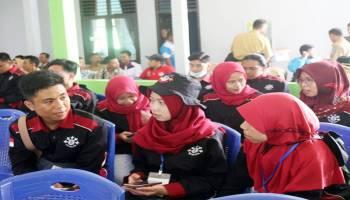 Mahasiswa KKN UBB Ikut Rapat Bersama PHBN Se-kecamatan Namang