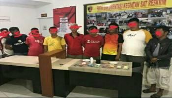 Main Kodok-kodok, 9 Pejudi Digiring ke Kantor Polisi