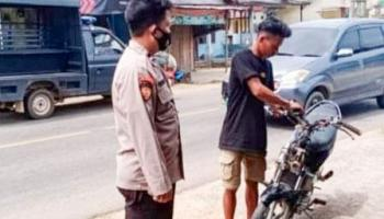 Maksimalkan Kamtibmas, Polsek Mendo Barat Gelar OPS Aman Nusa II