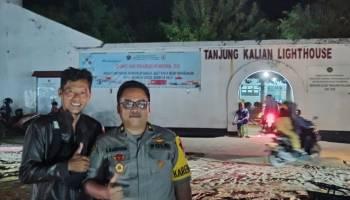 Malam Pergantian Tahun di Tanjung Kalian Berlangsung Tertib