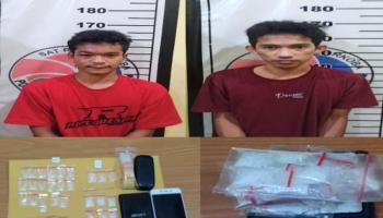 Marak Peredaran Narkoba, 31 Paket Sabu Diamankan Polres Basel dari Dua Pelaku