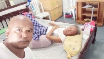 Marwan Zainuddin Penderita Penyumbatan Batu Empedu Akan Dirujuk ke Rumah Sakit Palembang