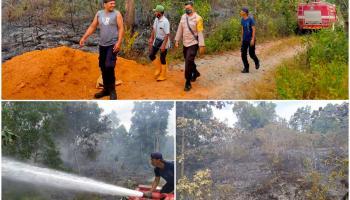 Masuk Musim Kemarau, Karhutla Terus Melanda di Kabupaten Bangka