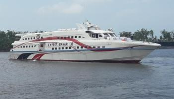 Masuk Zona Merah, Ekspress Bahari Hentikan Operasional Penyeberangan Pangkalpinang Belitung