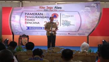 Masyarakat Harus Berkomitmen Dalam Menanggulangi Bencana
