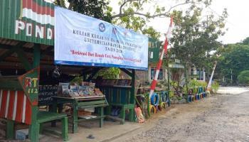 Masyarakat Sambut Program Tanaman Toga Mahasiswa KKN UBB Kelurahan Belinyu