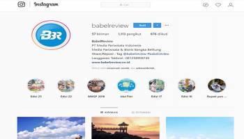 Mau Promosikan Wisata Babel? Media Sosial Bisa Jadi Solusinya
