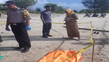 Mayat Wanita Terdampar di Pantai Alew Gegerkan Warga Koba