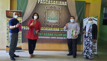 Me Hoa Kunjungi IAIN SAS Babel, Minta Direktur Pascasarjana Laporkan Guru Bateng Yang Mau Kuliah