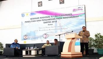 Melalui SNPPM FT UBB, Hasilkan Karya Kreatif dan Inovatif dari Anak Bangsa