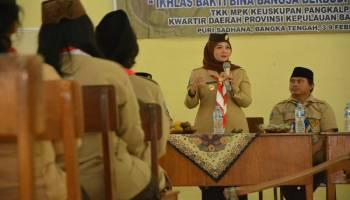 Melati Erzaldi Tutup KMD MPK Keuskupan Pangkalpinang, 39 Pembina Pramuka Digembleng Kepemimpinan