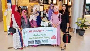 Melati Kasih Bersama Sahabat Peduli Babel Kirim Bantuan Untuk Korban Tsunami di Lampung